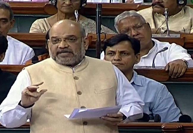 Article 370 : जम्मू-कश्मीर पुनर्गठन बिल राज्यसभा में पास, पक्ष में 125, विरोध में 61 वोट ।