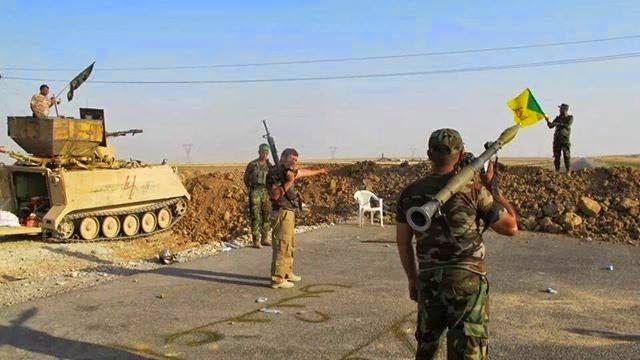 इराक़, स्वयं सेवी बलों ने दी अमरीका को खुली धमकी ।