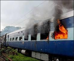 ब्रेकिंग – रकसोल लोकमान्य तिलक ट्रेन की बोगी में लगी आग।