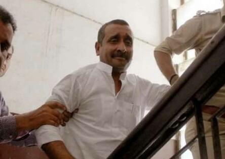 भाजपा के पूर्व विधायक कुलदीप सेंगर उन्नाव रेप के दोषी को 25 लाख के जुर्माने साथ आजीवन कारावास