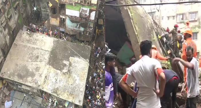 ठाणे भिवंडी में 3 मंजिला इमारत ढही 10 की मौंत