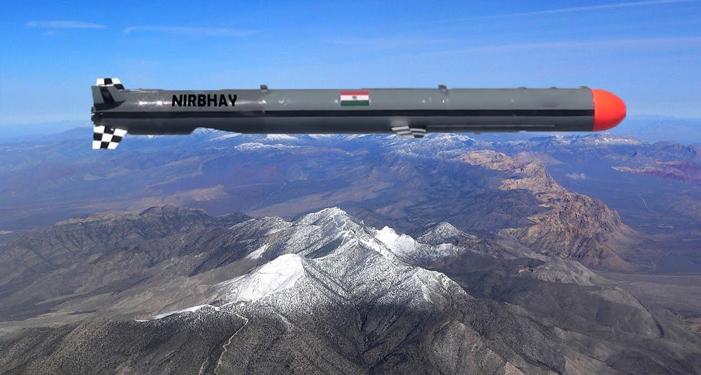 भारत ने LAC पर तैनात की अचूक मारक क्षमता वाली निर्भय मिसाईल