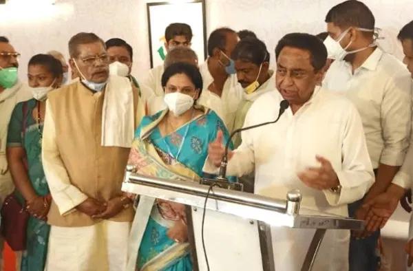 भाजपा के असंतुष्ट नेताओं का कांग्रेस में शामिल होने का सिलसिला लगातार जारी