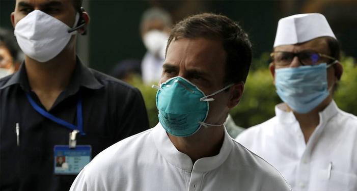 राहुल भी कोरोना वैक्सीन कवच से लैस !