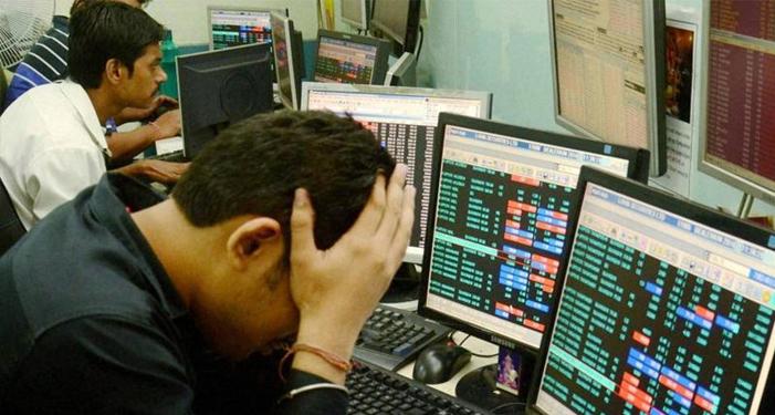 फिर भारतीय शेयर बाजार में निफ्टी और सेंसेक्स धड़ाम, निवेशकों में मचा कोहराम
