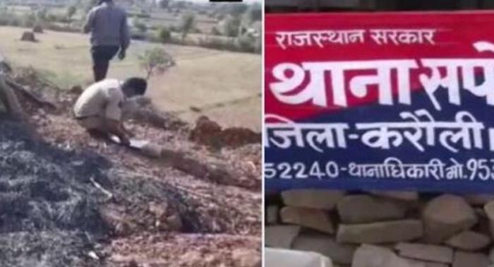 राजस्थान – करौली जिले में पांच लोगों ने मंदिर के पुजारी को पेट्रोल डाल जिंदा जला दिया, गहलोत बोले दोषियों को बख्शा नहीं जाएगा