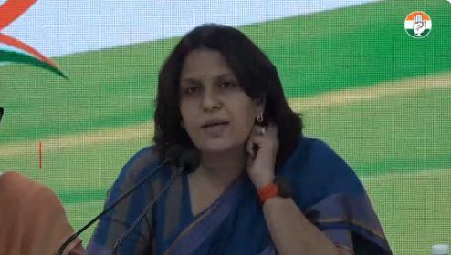 कांग्रेस ने यूपी सरकार पर कॉपी पेस्ट का लगाया आरोप, कहा धारा 144 लागू होने के बावजूद भी स्थानीय प्रशासन के समर्थन से लगा रहा हुजूम
