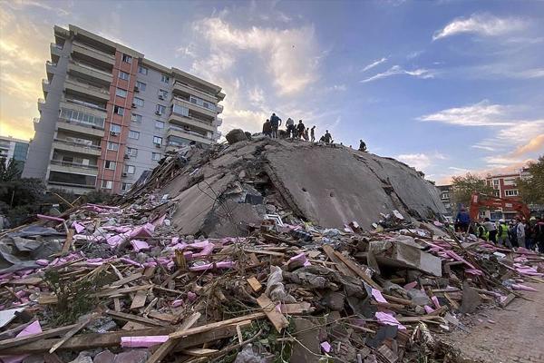 तुर्की में रिक्टर पैमाने पर 7.0 तीव्रता वाले शक्तिशाली भूकंप के कारण 20 लोगों की मौत, 786 अन्य लोग घायल
