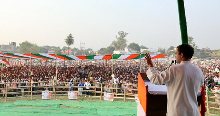 राहुल आश्वस्त बिहार में लोगों के चेहरे पर कुशासन से मुक्ति का जज्बा साफ झलक रहा, राज्य की सत्ता में बदलाव आएगा