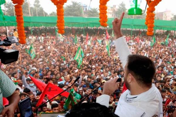 बिहार चुनाव में लालू के लाल का जबरदस्त कमाल, तेजस्वी का बढ़ता क़द और बदलती छवि कुछ न कुछ तो बयाँ करती है !