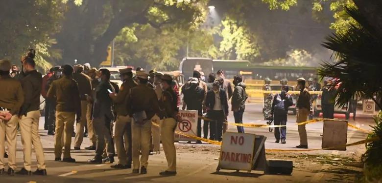 दिल्ली में इजरायल दूतावास के पास धमाका