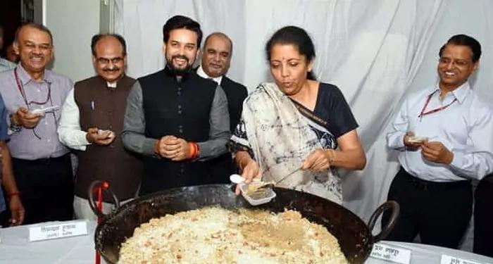 वाह रे वाह ! वित्त मंत्री जी, करोडों बेरोजगार दो जून की रोटी तलाश रहे, मोदी जी के मंत्रीगण हलवे में ज़ायका तलाश रहे !