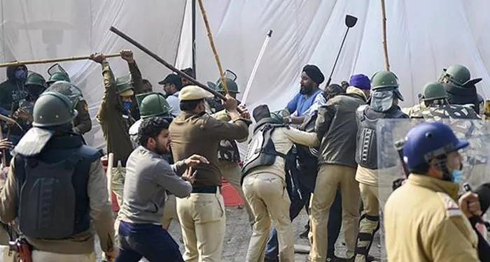 SHO अलीपुर पर हमला करने वाले किसान आंदोलनकारी को नहीं किया सर्वजनिक ? दिल्ली पुलिस का दावा सिंघु बार्डर हिंसा में 44 लोग गिरफ्तार