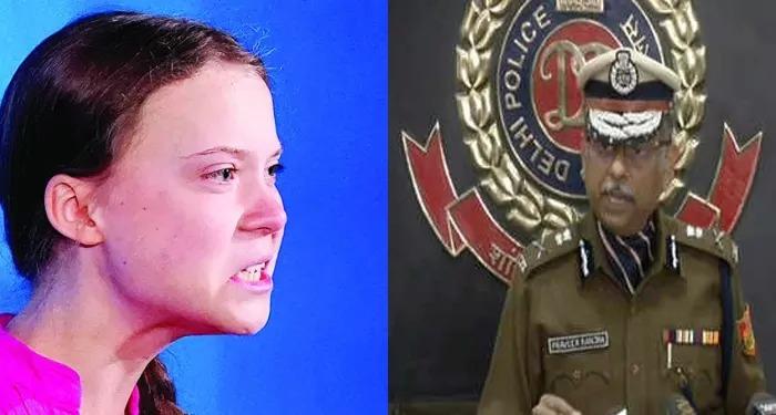 ग्रेटा थनबर्ग पर दिल्ली पुलिस की सफाई – एफ़आईआर में पर्यावरणविद ग्रेटा थनबर्ग का नाम नहीं