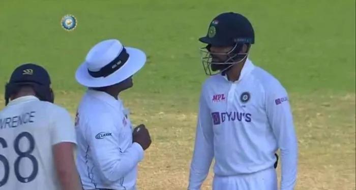 विराट कोहली पे अंपायर से उलझने के बाद भी नहीं हुई कोई कार्रवाई, क्रिकेट से बड़ा होता जा रहा कोहली का क़द