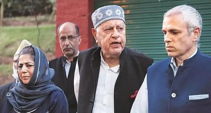 जम्मू-कश्मीर पूर्व मुख्यमंत्रियों फारूख अब्दुल्लाह, उमर अब्दुल्ला और महबूबा मुफ़्ती को वापस किया गया नज़रबंद