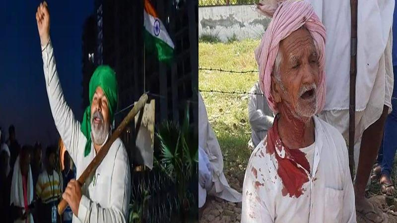 अत्याचारी सरकार और कितने किसानों का लेगी बलिदान, रोहतक में आंदोलन कर रहे वृद्ध किसानों पर लाठीचार्ज