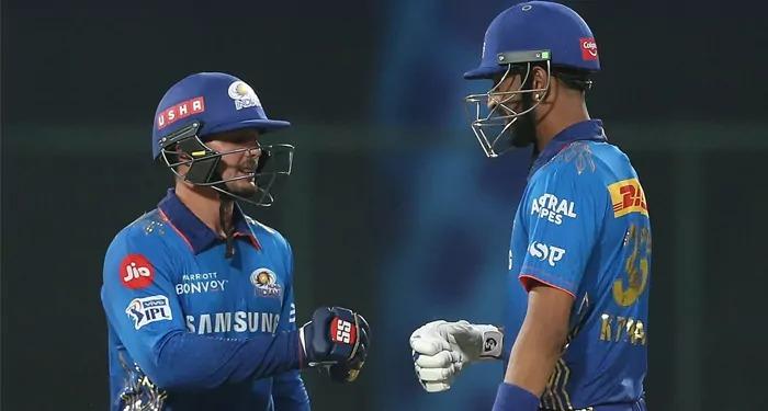 मुंबई ने RR को सात विकेट से हराया, RR एक बार फिर हुई ढेर