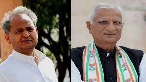 राजस्थान कांग्रेस में उठा विधायक हेमाराम चौधरी के इस्तीफा देने के बाद से सियासी बबंडर, बेगानी शादी में भाजपा दिवानी..!