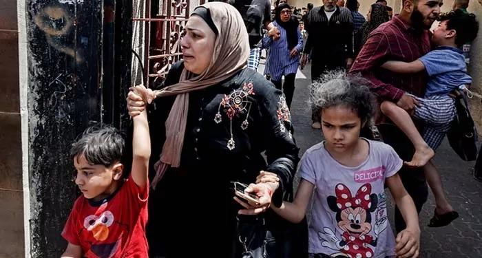 संयुक्त राष्ट्रसंघ ने इज़राइल के हमलों पर व्यक्त की प्रतिक्रिया कहा हज़ारों फ़िलिस्तीनी पलायन को मजबूर