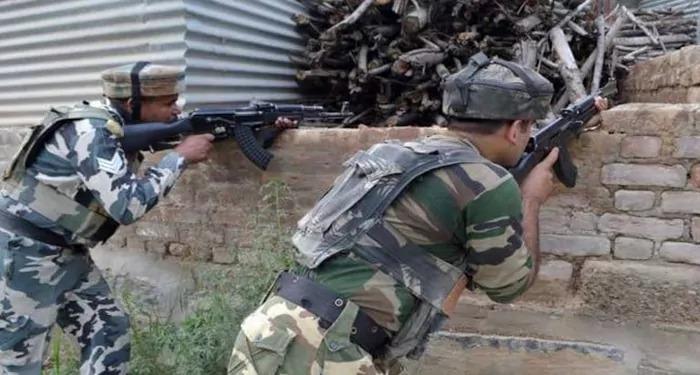 जम्मू-काश्मीर : मुठभेड़ में सुरक्षा बलों के साथ लश्करे तैयबा के आतंकवादी ढेर