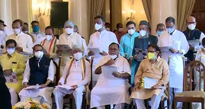 ममता बनर्जी का कैबिनेट विस्तार 8 महिलाओं समेत 43 मंत्री हुये शामिल