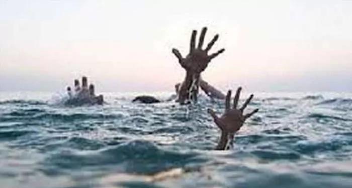 गोंडा पांच बच्चों की मौत, सात बच्चे तालाब में डूबे, गए थे मिटटी निकालने