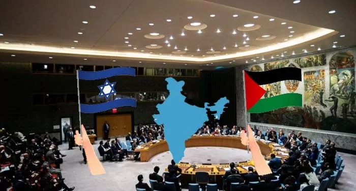 इजरायल के खिलाफ संयुक्त राष्ट्र में प्रस्ताव पर फिलिस्तीन भारत के रुख से नाराज़