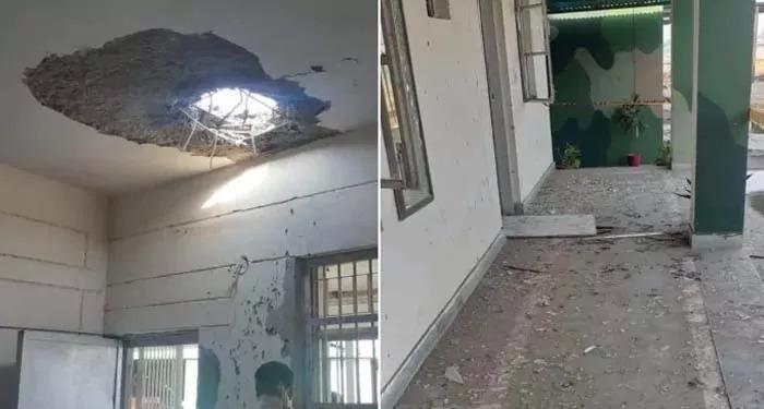 ड्रोन से जम्मू एयरफोर्स स्टेशन पर हुआ हमला!