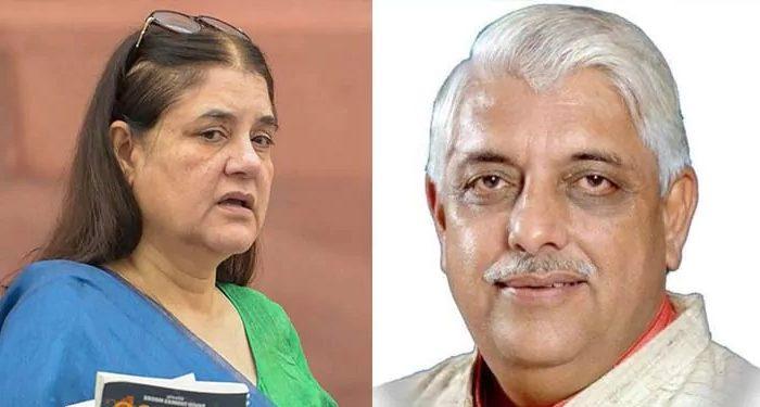 भाजपा विधायक ने बताया हम मेनका गाँधी के व्यवहार से शर्मिंदा हैं , वो एक घटिया महिला