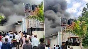 पुणे : केमिकल फैक्ट्री एसवीएस एक्वा टेक्नोलॉजीज में लगी भीषण आग, 17 मजदूरों की हुई दम घुटने से मौत