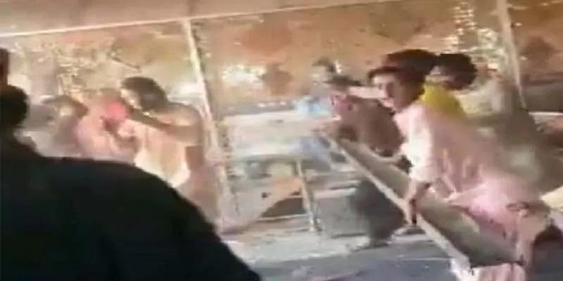 पाकिस्तान में मंदिर पर हुये हमले में शामिल व्यक्तियों की गिरफ्तारी के साथ - साथ मुकदमा भी दर्ज