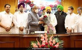 पंजाब के मुख्यमंत्री के रूप में चरणजीत सिंह चन्नी ने ली शपथ