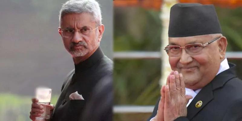 एस. जयशंकर पर नेपाल के पूर्व पीएम ओली ने लगाया धमकाने का आरोप